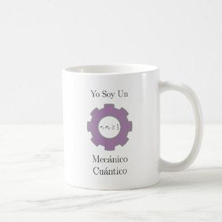various, yo soy un mecánico cuántico, uncertainty classic white coffee mug