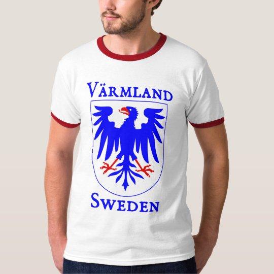 Värmland, Suecia (Sverige) Playera