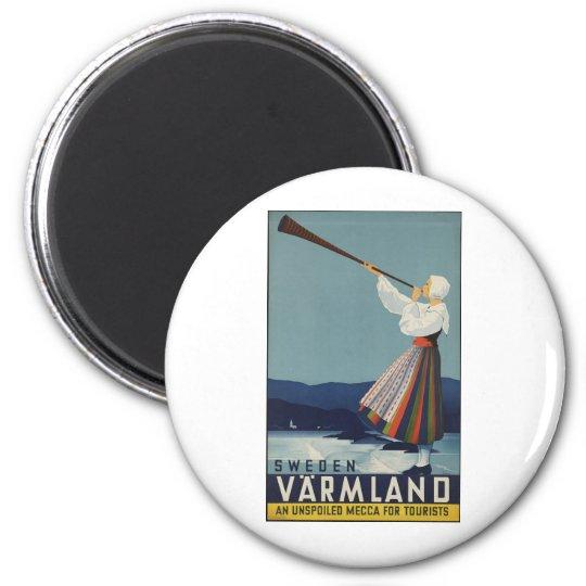 VarmLand Sweden Magnet