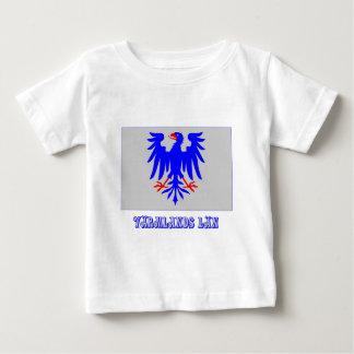 Värmlands län flag with name t shirt