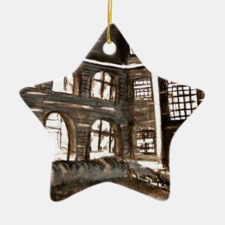 varndean courtyard ceramic ornament