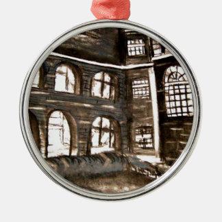 varndean courtyard metal ornament