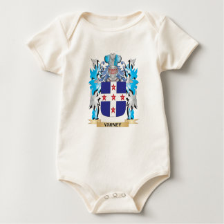 Varney Coat of Arms - Family Crest Baby Creeper