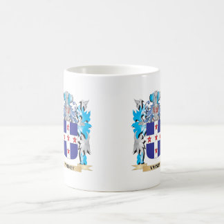 Varney Coat of Arms - Family Crest Classic White Coffee Mug