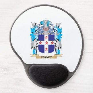 Varney Coat of Arms - Family Crest Gel Mouse Pad