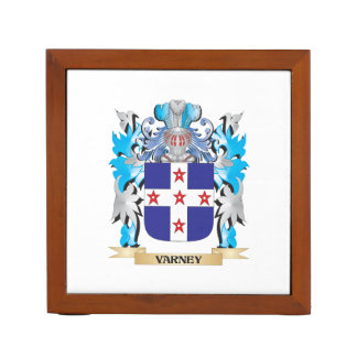 Varney Coat of Arms - Family Crest Pencil/Pen Holder