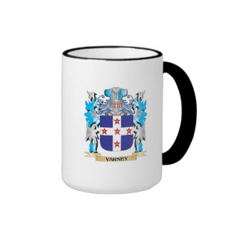 Varney Coat of Arms - Family Crest Ringer Coffee Mug