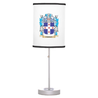 Varney Coat of Arms - Family Crest Table Lamp