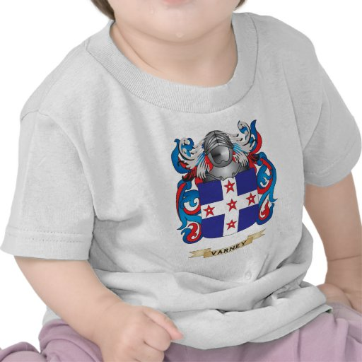 Varney Family Crest (Coat of Arms) Shirt