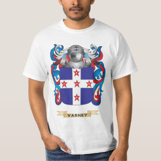 Varney Family Crest (Coat of Arms) Tee Shirts