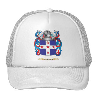 Varney Family Crest (Coat of Arms) Trucker Hat