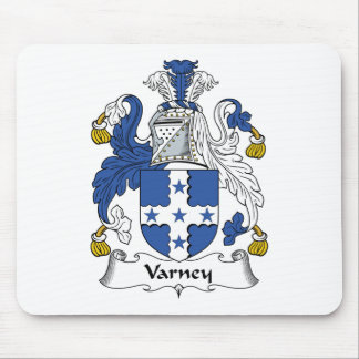 Varney Family Crest Mouse Pad