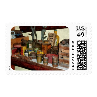 Varnish, Soap and Glue Stamp