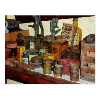 Varnish, Soap and Glue Postcard