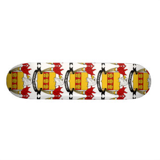 Varnum Family Crest Skate Deck
