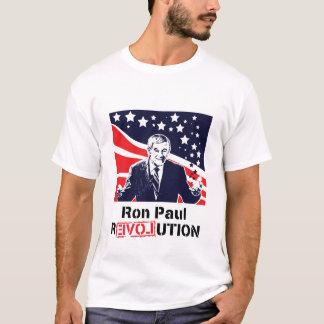 Varón blanco de la camiseta de la revolución de