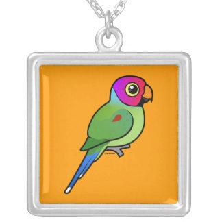 varón Ciruelo-dirigido del Parakeet Colgantes