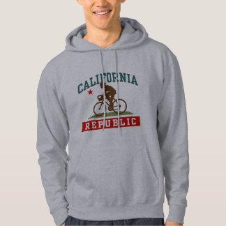 Varón de ciclo de California Sudaderas Con Capucha