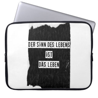 Varón del DES Lebens 15 Zoll de Der Sinn Funda Computadora