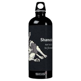 Varón desvergonzado botella de agua