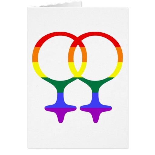 Varón gay o regalos y camisetas femeninos del símb felicitación