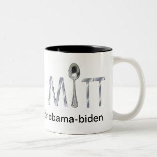 Varón rico blanco para la taza de Obama