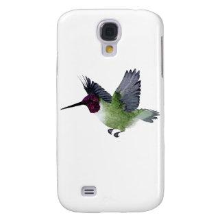 Varón Throated de rubíes del colibrí Funda Samsung S4