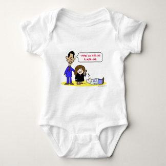 Varones blancos del sotomayor de Obama mini-yo Body Para Bebé