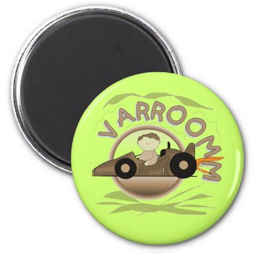 Varroomm Race Car Tshirts and Gifts Fridge Magnet