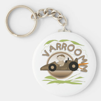 Varroomm Race Car Tshirts and Gifts Keychain