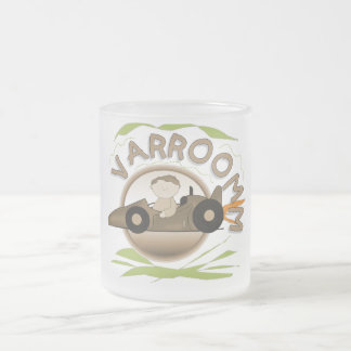 Varroomm Race Car Tshirts and Gifts Frosted Glass Mug