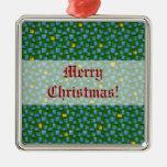 Varsely Mosaic Christmas Tree Ornament
