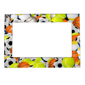 Varsity Athlete in Multiple Sports Magnetic Picture Frame