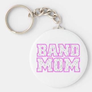Varsity Band Mom Design Keychain