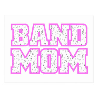 Varsity Band Mom Design Postcard
