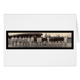 Varsity Baseball Yale Photo 1910 Card
