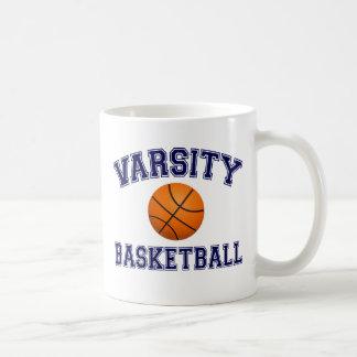 VARSITY BASKETBALL BLUE COFFEE MUG