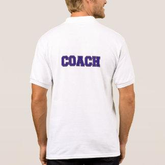 Varsity Coach Men's Polo Shirt, Blue-Gold