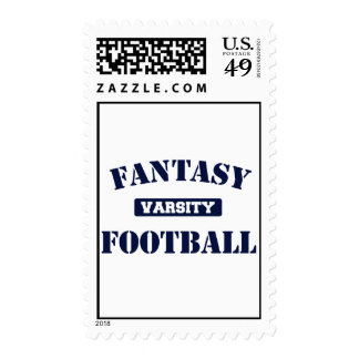 Varsity Fantasy Football Postage Stamp