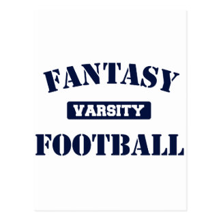 Varsity Fantasy Football Postcard