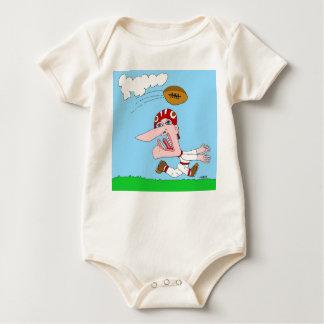 Varsity Football Baby Bodysuit