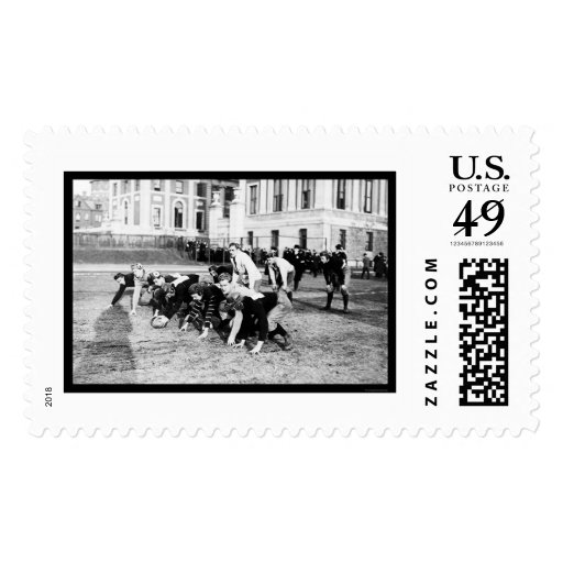 Varsity Football Columbia 1914 Postage Stamps