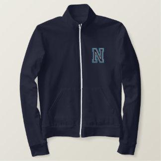 Varsity N Embroidered Jacket