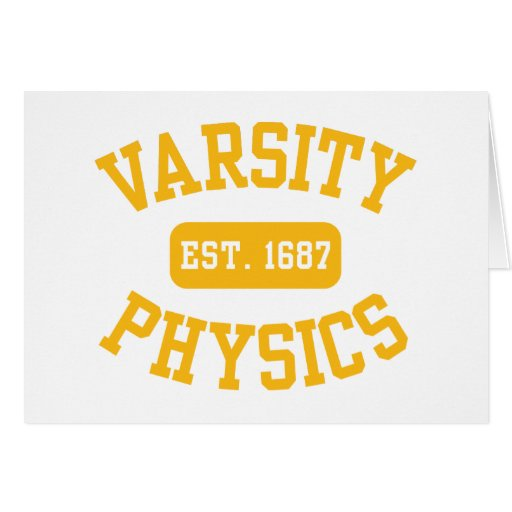 Varsity Physics Cards