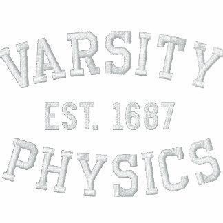 VARSITY, PHYSICS, EST. 1687 POLO