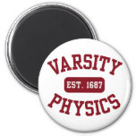 Varsity Physics Fridge Magnets