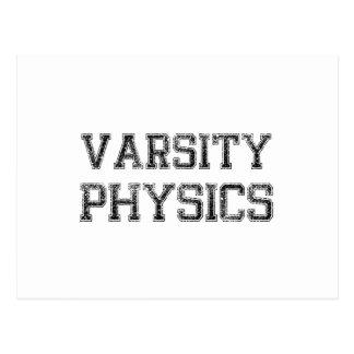 Varsity Physics Postcard