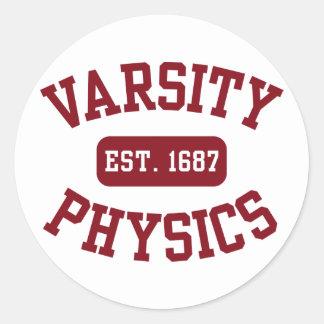 Varsity Physics Stickers