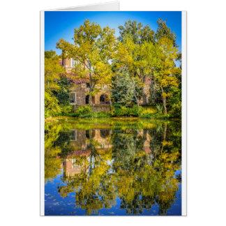 Varsity Pond, University of Colorado Boulder Cards