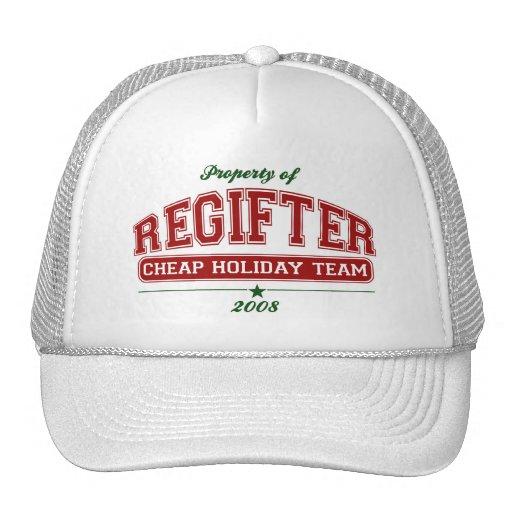 Varsity REGIFTER Cheap Holiday Team HAT